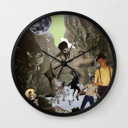 Dancing Cave Wall Clock