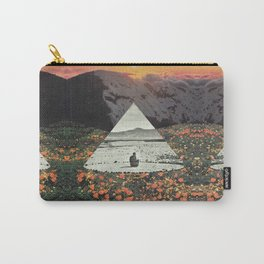 Harmony with flowers Carry-All Pouch