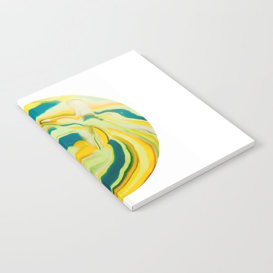 What The World Needs Now. Yellow Marble. Notebook