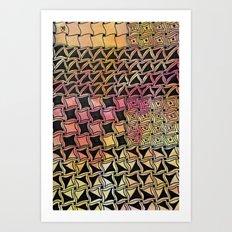 Cadent Art Print