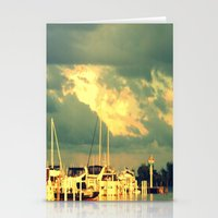 sail Stationery Cards featuring Lets Go For a Boat Ride by 2sweet4words Designs