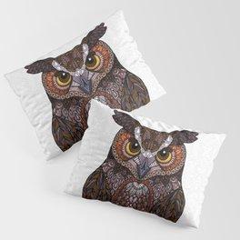 Great Horned Owl 2016 Pillow Sham