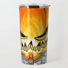 Inktober Dapper Pumpkin Travel Mug