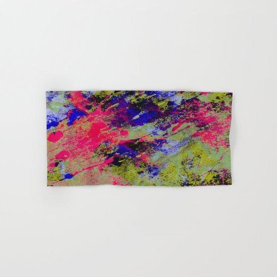 Colour Abstract #13 Hand & Bath Towel