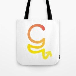 """Ta"" in the Marma alphabet Tote Bag"