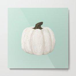 Knotty Pumpkin Metal Print