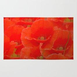 Red Poppies #decor #buyart #society6 Rug