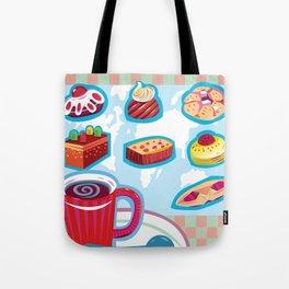 Coffee Time Tote Bag