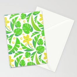 PERROQUET FLOWERS Stationery Cards