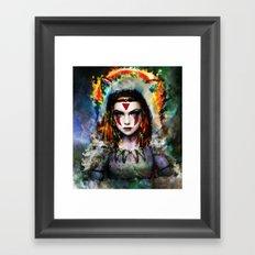 princess  Framed Art Print