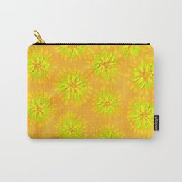 Orange Crush Petal Rose Carry-All Pouch