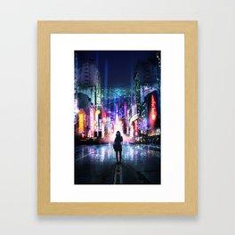 Jacked in Framed Art Print