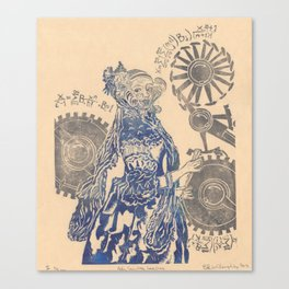 Ada, Countess Lovelace, Enchantress of Numbers Canvas Print