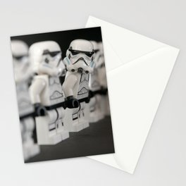 Storm trooper minifigure Stationery Cards
