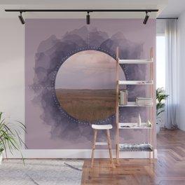 Landscape Series Purple Wall Mural