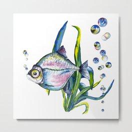 Underwater forest. Metal Print