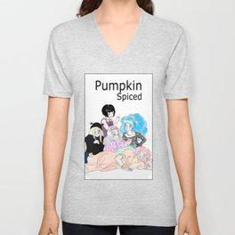 The Pumpkin Spiced Club  Unisex V-Neck