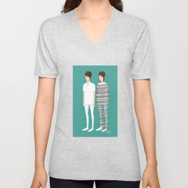 Tegan and Sara: Call It Off Unisex V-Neck