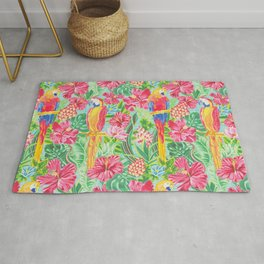 Land Of The Giant Hibiscus Rug