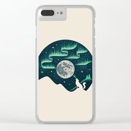 Arctic Tune Clear iPhone Case