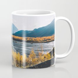 Alaskan Autumn - Kenai Fjords National Park Coffee Mug