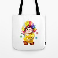 indian Tote Bags featuring Indian  by tatiana-teni