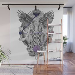 Nomadic by nature Wall Mural