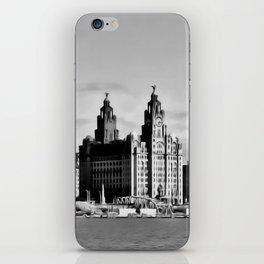 Water front Liverpool (Digital Art) iPhone Skin