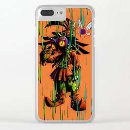 Majora Mask Clear iPhone Case