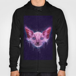 Pop Art Lykoi Cat Hoody