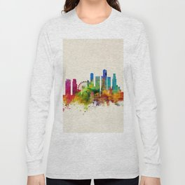 Singapore Skyline Long Sleeve T-shirt