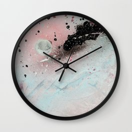 Negative Sky Wall Clock
