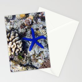 Starfish on the Reef Stationery Cards
