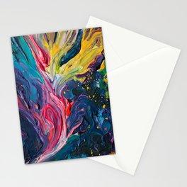 Bird Flower Stationery Cards