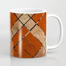 Retro pastel plaid pattern N8 Coffee Mug