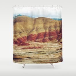 Painted Hills Shower Curtain