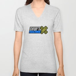 Drift Machine v6 HQvector Unisex V-Neck
