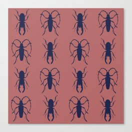 Beetle Grid V4 Canvas Print