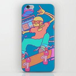 Skull Skater iPhone Skin