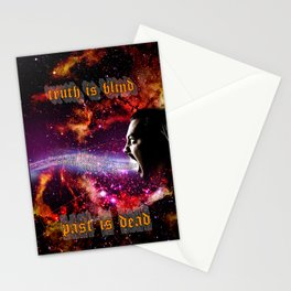 Truth Is Blind Stationery Cards