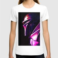 """battlestar T-shirts featuring """"Some Kinda' Crazy, Frakked Up Cylon Signal..."""" by Cullen Rawlins"""
