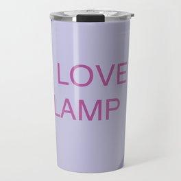 Brick Tamland Conversation Heart Travel Mug