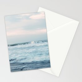 TIME LAPSE PHOTOGRAPHY OF OCEAN WAVE Stationery Cards