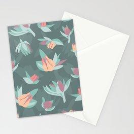 Succulent floral element & patterns IV Stationery Cards