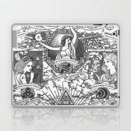 Legend of Zelda - The Three Goddesses of Hyrule Geek Line Artly Laptop & iPad Skin