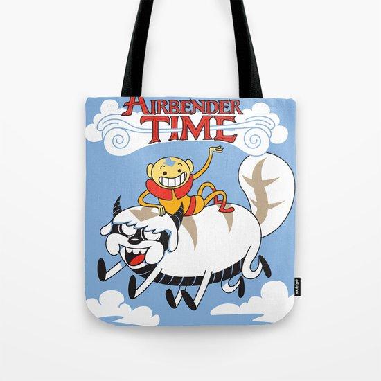 Airbender Time Tote Bag