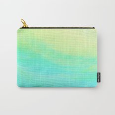 Aqua Lemon Marine Coast Carry-All Pouch