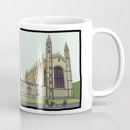 Cambridge stuggles: King's Coffee Mug