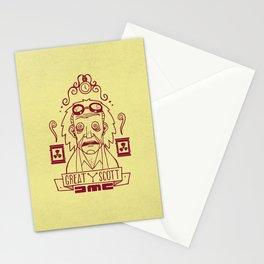 Great Scott - Emmet Brown Stationery Cards