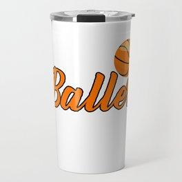Just a Basketballer From Kentucky Travel Mug